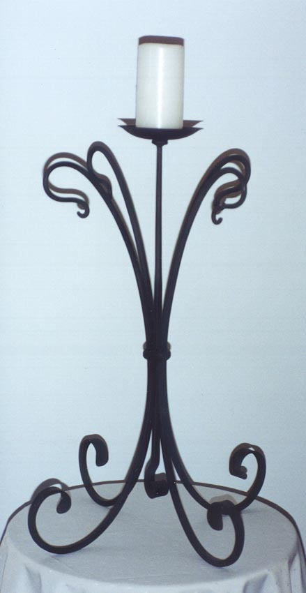Single Table Candelabra
